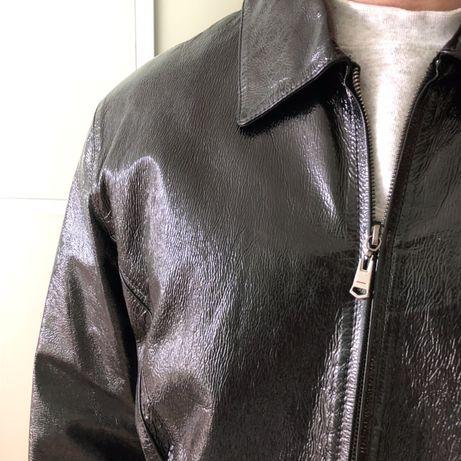 Чоловіча шкіряна куртка кожа мужская куртка весна шкірянка Львів -  зображення 3 e2298caac5e73