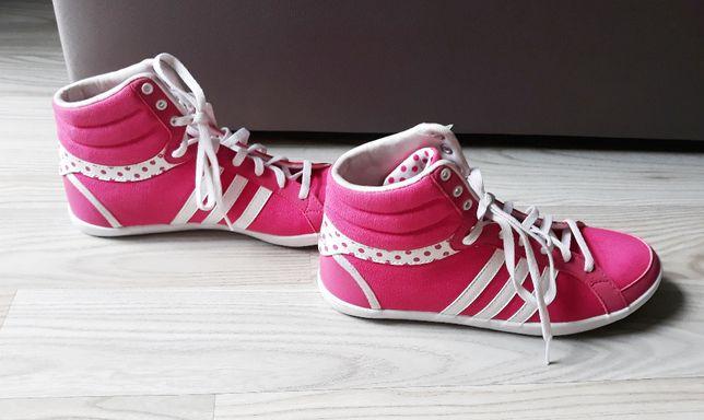 NOWE różowe trampki buty F38011 adidas Neo 38 24cm Lifestyle