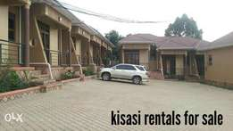 Six rentals for sale in kisasi making 3m selling cheaply.