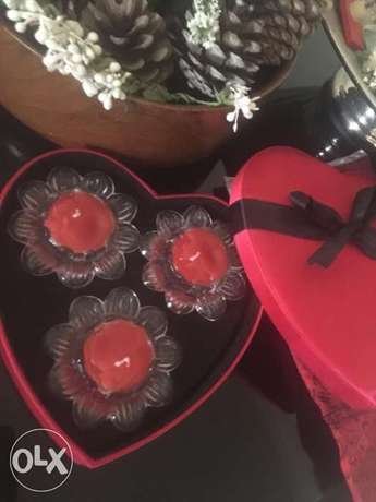 Red Candles for Special gift