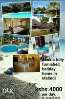Holiday homes for short term rental