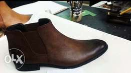 official leather boot