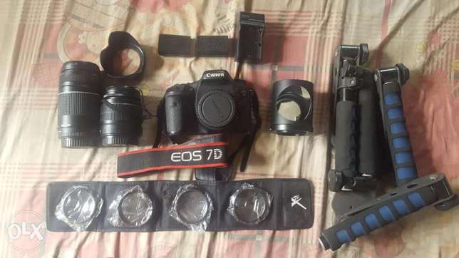 Canon EOS 7d and accessories Abuja - image 3