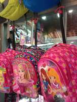 Kid's trolley bags with lunch bags