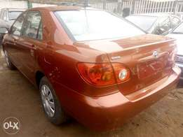 2003 Toyota Corolla CE Red in good condition
