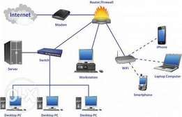Cyber Cafe Networking and Internet Solutions
