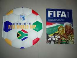 Collectors FIFA South Africa world cup book