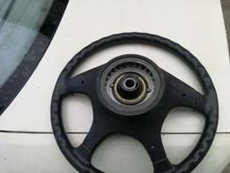BMW 525i E34 steering wheel for sale