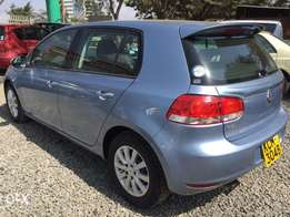 Volkswagen golf for sale blue