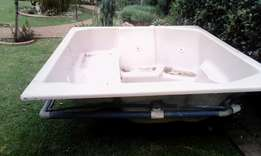 Four seated jacuzzi