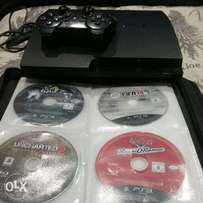 Ps3 with 10 games for sale or swop