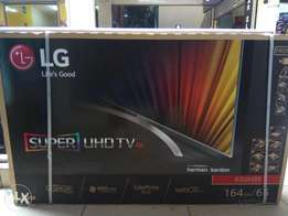 "Lg 65"" super uhd tv on offer now"