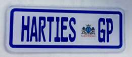 HARTIESGP Plate & Official Registration Papers