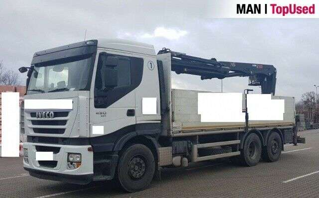 Iveco As260 S45 Hiab 211dl-3pro Baustoff - 2011