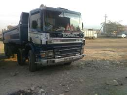 Scania double steering for sale