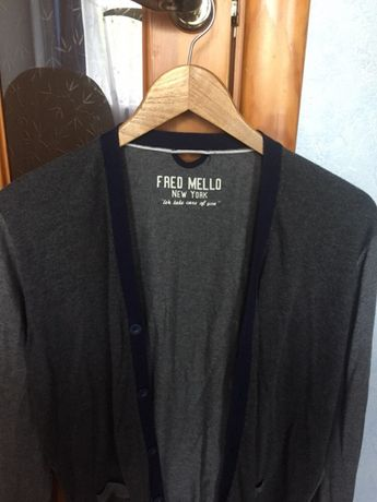2018e54ba1f680 Кофта ( свитер, кардиган) чоловіча/мужская Fred Mello Івано-Франківськ -  зображення