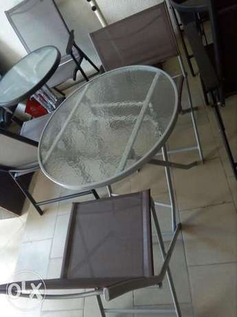 Garden set by 2 chairs with table Lagos Mainland - image 1