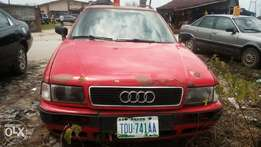Red Audi 80 wagon available for sell