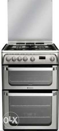 Hotpoint stainless gas cooker Surulere - image 1