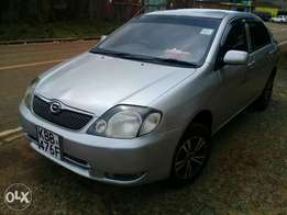 Silver Toyota NZE, in very Good condition for Sale