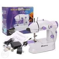 Mini Double Speed Automatic Thread Sewing Machine With Light EU - Whi