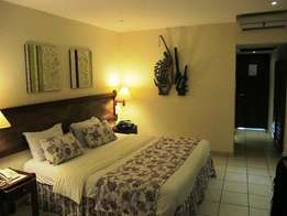 Hotel accommodation and flight bookings