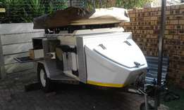 Jurgens XT 75 Off Road Trailer - excellence condition Ready for Namibi