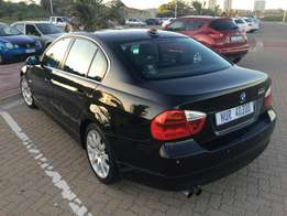 BMW 323i E90 2007 Black for sale