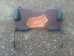 Buggyboard with attachements for prams and stroller