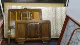 single bed for sale with matrass