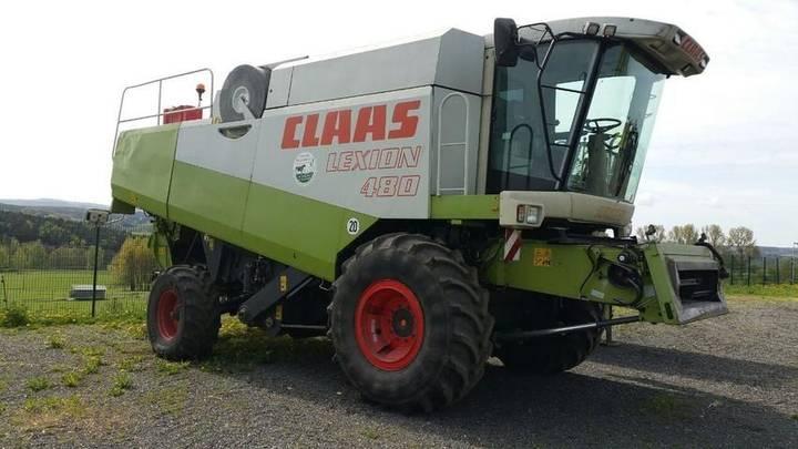 Claas lexion 480 - 2001