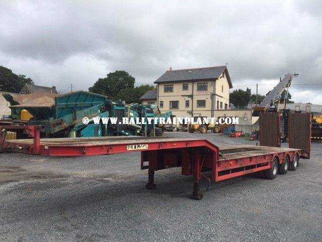 King Gts44-3 Tri-axle Low Loader - 2007