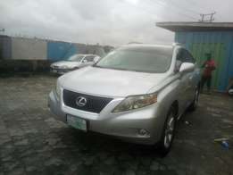 One year used 2010 Lexus Rx 350