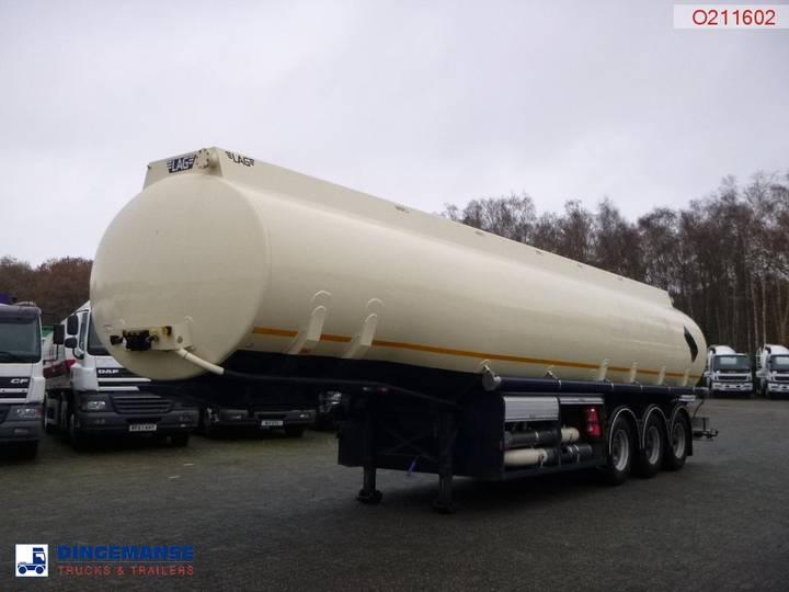 LAG Fuel tank alu 42 m3 / 5 comp + 2 counters - 2002