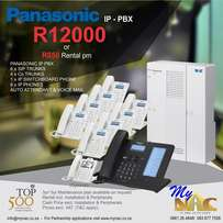 Brand new Panasonic Pabx with phones