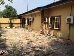 Well buite 3bedroom bungalow with a mini flat as bq for sale