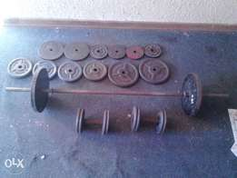 110kg weight set for sale