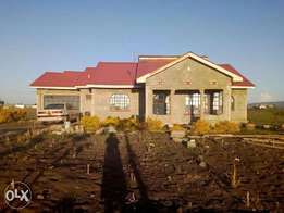bdrm bungalow at thika landless, 6km from garissa rd (pakjel) in 1/8
