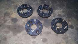 Wheels adapters/spacers