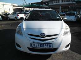 Toyota Yaris 1.3 Sedan 2007 Model with 4 Doors, Factory A/C and C/D