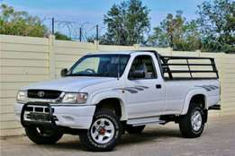 2004 Toyota Hilux 2700i Single Cab 4x4 Service History Accident Free