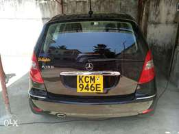 Mercedes A180 black colour 2010 model KCN number. Loaded with alloy r