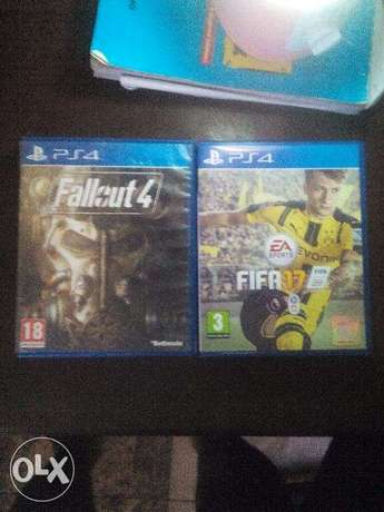 FIFA 17 and Fallout 4 for PS4 Benin City - image 1