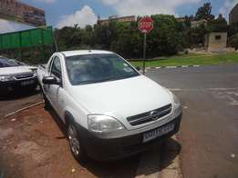 2007 model opel corsa utility 1.4 whith in colour for sale