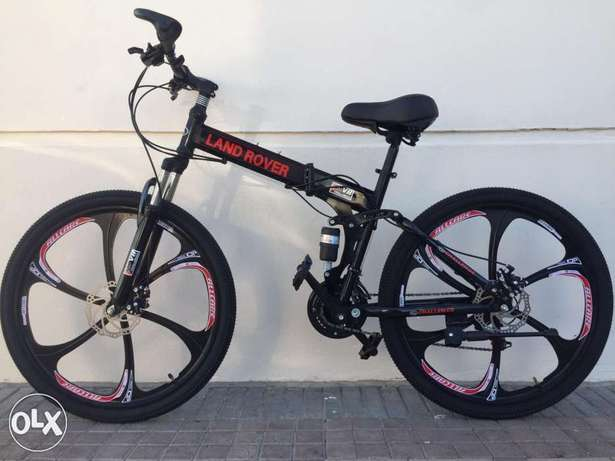 Foldable Aluminium bikes - available for delivery