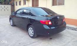 2010 Toyota corolla tokunbo first body Accident free