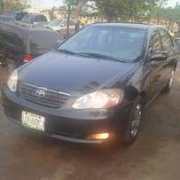 Nigerian Used Toyota Corolla 2004. Very Okay First Body No Issues.