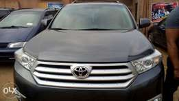 2013 Toyota highlander, direct tokunbo