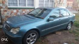 Merdes benz c200 for sale as is