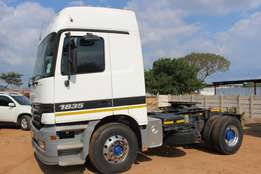 Mercedes-Benz Actros 1835 and Trailer FOR SALE